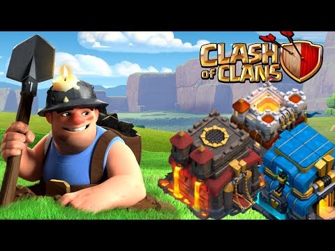 Miners Are BACK! TH10/11/12 Miner Attacks | Clash of Clans
