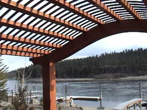 Arched Pergola Video Youtube