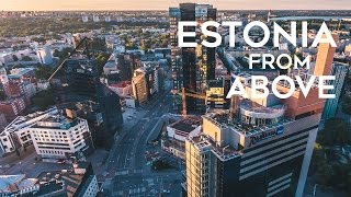 Estonia from Above - Aerial Drone 4K Film