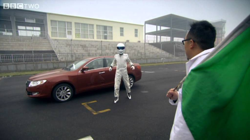 The Stig S Chinese Cousin Top Gear Series 18 Episode 2