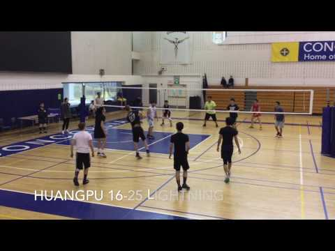 Huangpu Sports School vs Shanghai Lightning VC - (2017/02/26)