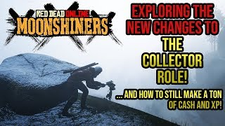 Red Dead Redemption 2 Online - Changes To The Collector Role with the Moonshiners Content Update!