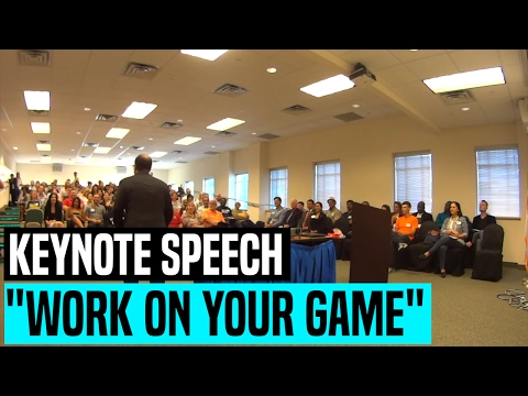 "Keynote Speech ""Work On Your Game"" @ Toastmasters Leadership Institute [TLI] Miami 