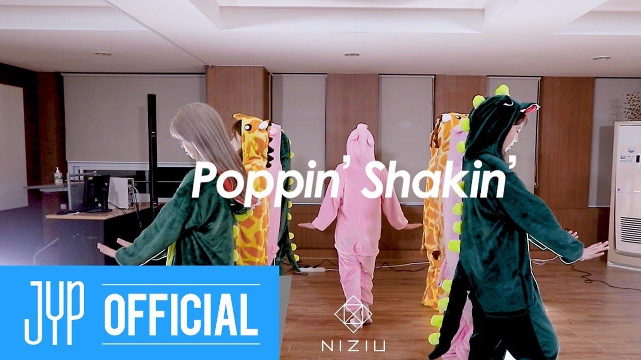 NiziU 2nd Single『Poppin' Shakin'』 Performance Video(Animal ver.)
