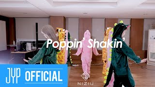 NiziU 2nd Single『Poppin' Shakin'』 Performance Video(Animal ver.)|NiziU Official