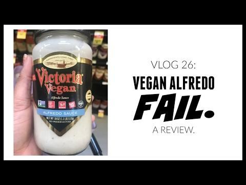 Vlog 26: Vegan Alfredo Fail.