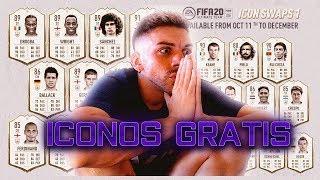 COMO CONSEGUIR ICONOS GRATIS en FIFA 20
