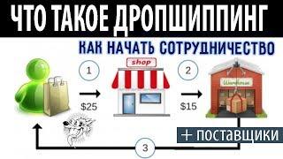 видео Что такое дропшиппинг