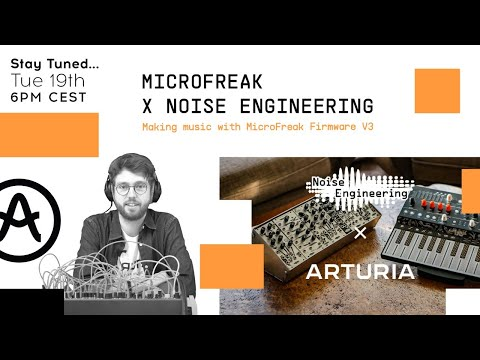 Livestream   Making music with MicroFreak firmware V3