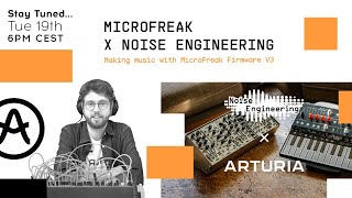Livestream | Making music with MicroFreak firmware V3