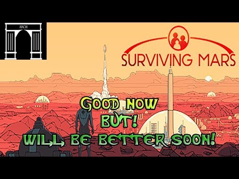 Surviving Mars, First impression of the Red Planet simulator