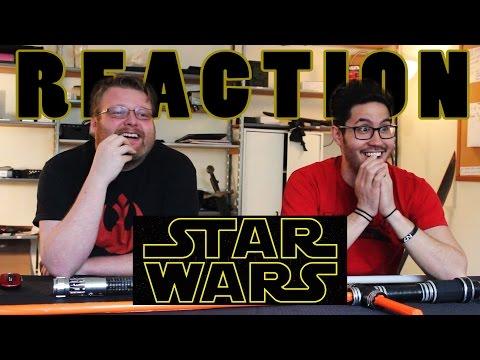 Star Wars The Force Awakens Trailer 2 REACTION!!!