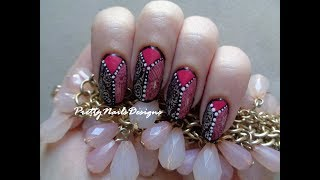 Mixed Patterns Advanced Stamping Nail Art