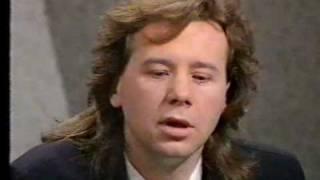 "Jim Kerr ""Open to Questions"" TV program 1986 - Part 1 of 2."