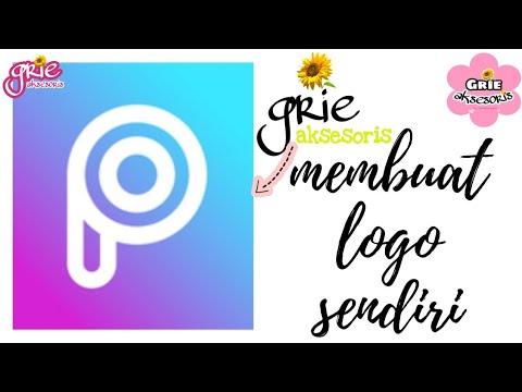 Cara Membuat Logo Online Shop Sendiri Melalui Aplikasi Picsart Membuat Watermark Foto Sendiri Youtube