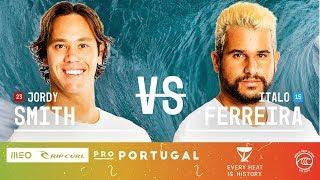 Jordy Smith & Italo Ferreira FINAL Heat at Rip Curl Pro Portugal