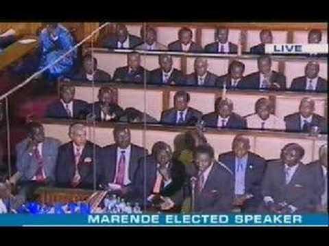 Kenya paliament Orengo tells kibaki off