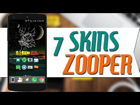 ZOOPER WIDGET PRO /SKIN-APK/ 'Infinity Skin Zooper | FunnyDog TV