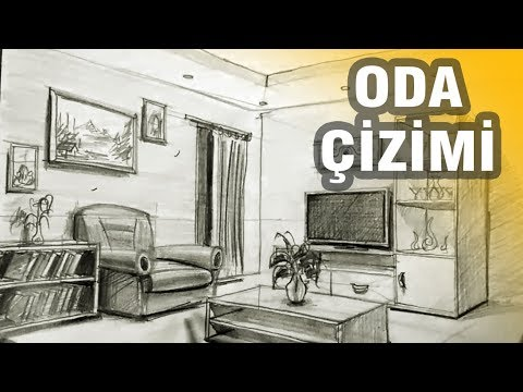 Perspektif Oda 199 Izimi Perspective Room Drawing Youtube