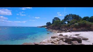 Finistère, de Cap coz à Beg meil, 4K.