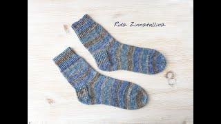 мужские носки спицами, ч. 1
