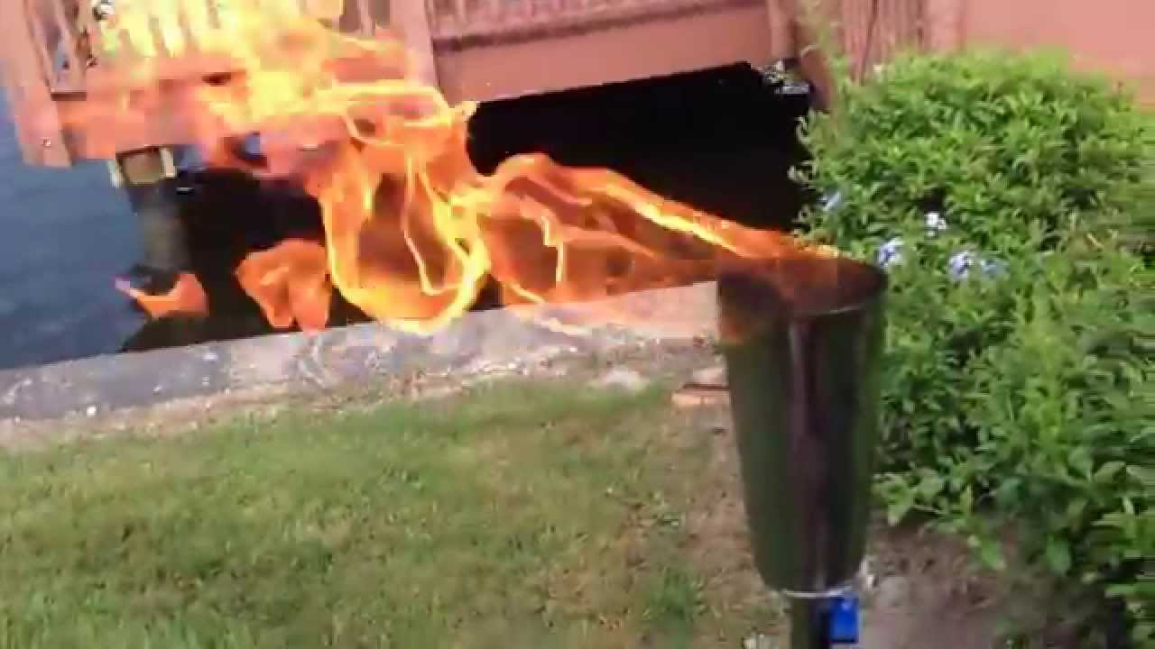 Diy Portable Backyard Propane Torch Kit From Easyfirepits