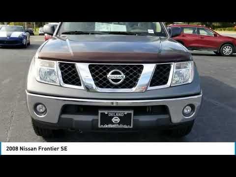2008 Nissan Frontier DeLand Nissan N772682C