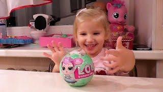 #Игрушки Little Babies LOL Surprise Dolls - Куклы Пупсики ЛОЛ #Сюрпризы для Детей | AlinkaSilverinka