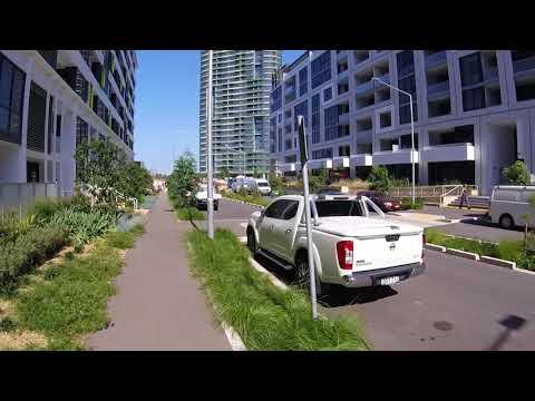 Biking Around Sydney Olympic Park - P1