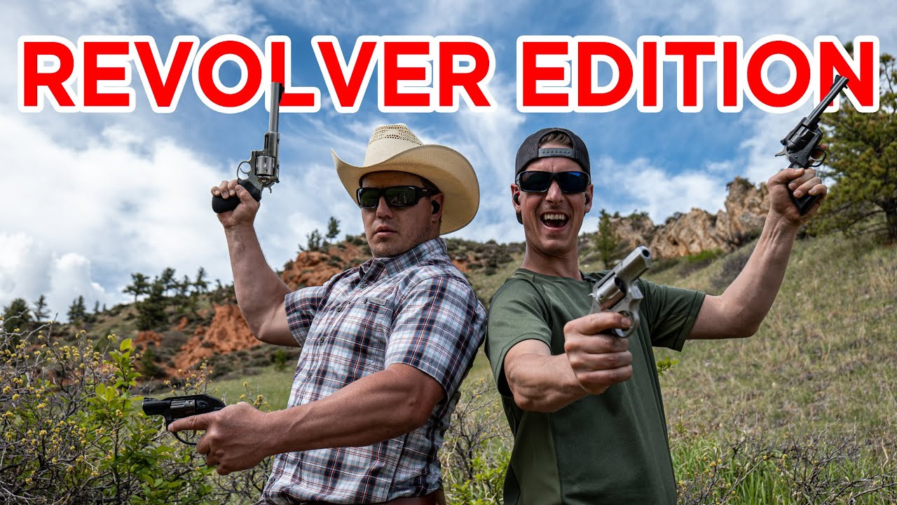Revolver Trick Shots | Gould Brothers