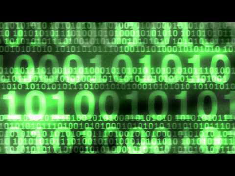 Matrix Numbers Background [Download Link]