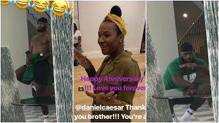 Savannah secretly films LeBron vibing as they celebrate their anniversary