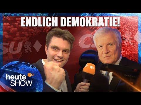 Wahl in Bayern: Lutz van der Horst bei der CSU | heute-show vom 19.10.2018