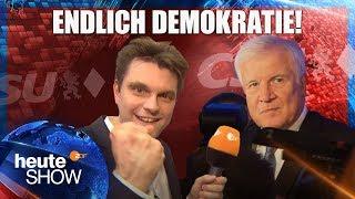 Wahl in Bayern: Lutz van der Horst bei der CSU