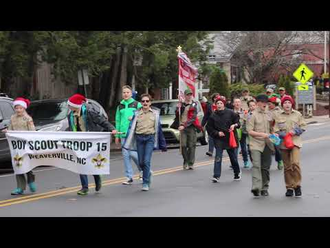 Weaverville Christmas Parade 2019 Video: 2018 Weaverville Christmas Parade In Less Than Three