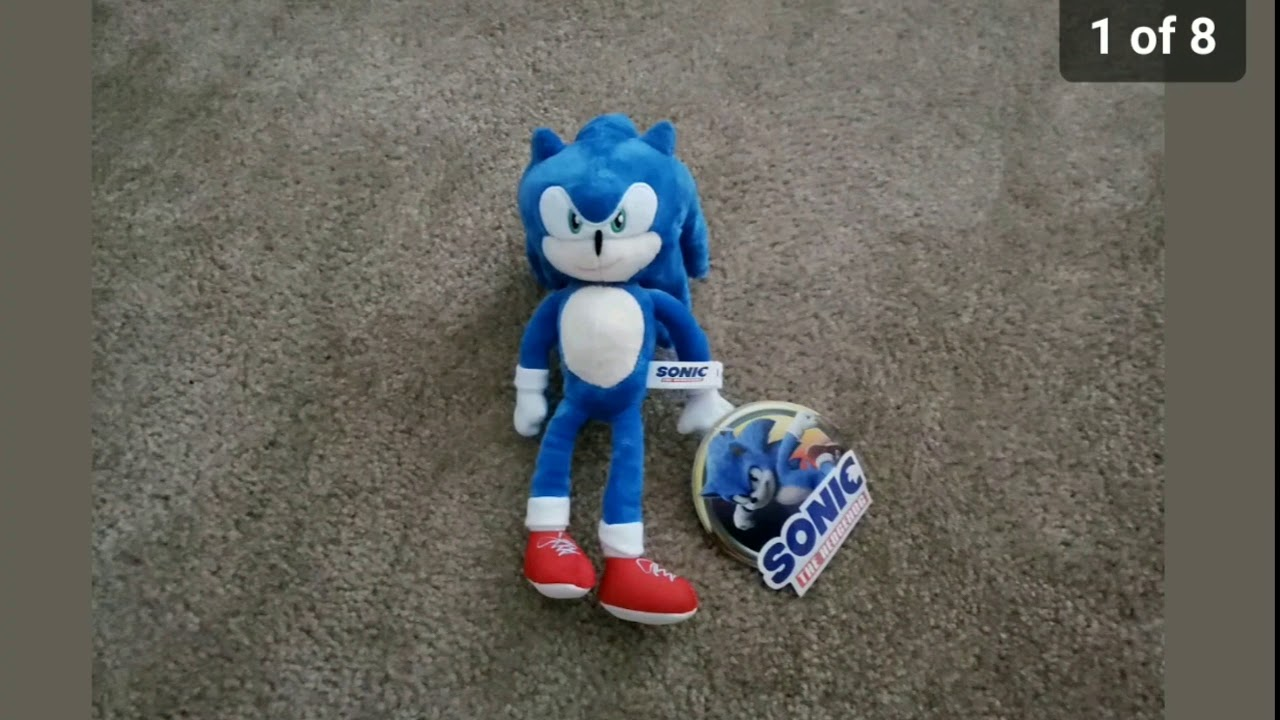 New Sonic Movie 2020 Plush Listing On Ebay Go Get It Now Before It