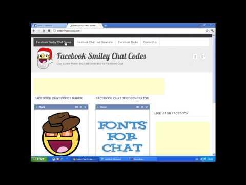 Kako Napraviti Sličicu Za Facebook Chat?