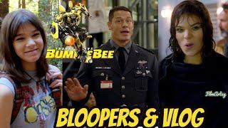 Bumblebee(2018) Funny Bloopers & Hailee Steinfeld