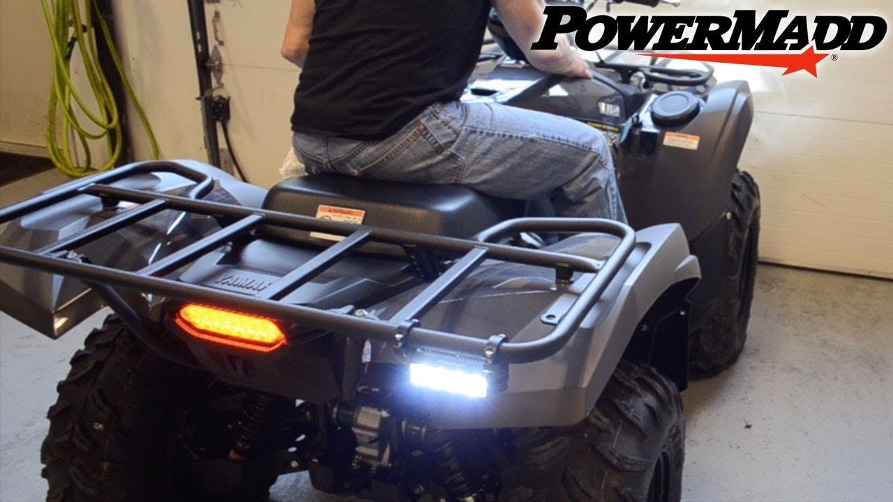 TAILLIGHT ASSEMBLY W//BULB FOR 2009 YAMAHA GRIZZLY 550