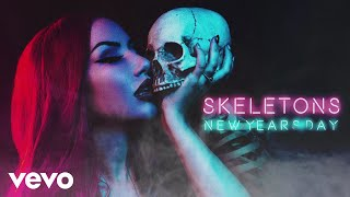 New Years Day - Skeletons (Audio)