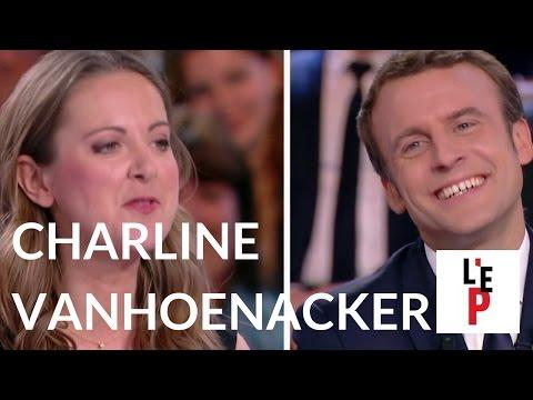 L'Emission politique : Charline Vanhoenacker face à Emmanuel Macron le 06 avril 2017 (France 2)