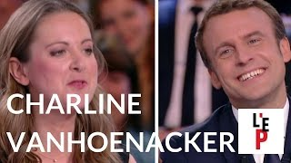 L'Emission politique : Charline Vanhoenacker face à Emmanuel Macron le 06 avril 2017 (France 2)