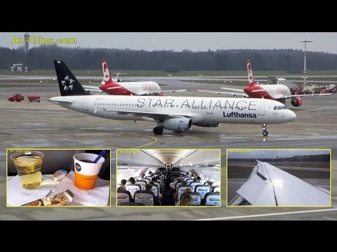 Lufthansa A321 Star Alliance special colours flight to Frankfurt [AirClips full flight series]