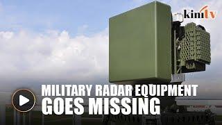 High-tech military radar equipment goes missing