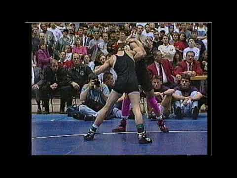 1996 3A 130 Iowa HS State Wrestling Finals/Awards: Pence Vs. Vance