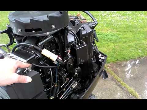 Mercury Black Max 150HP 20 V6 2stroke  YouTube