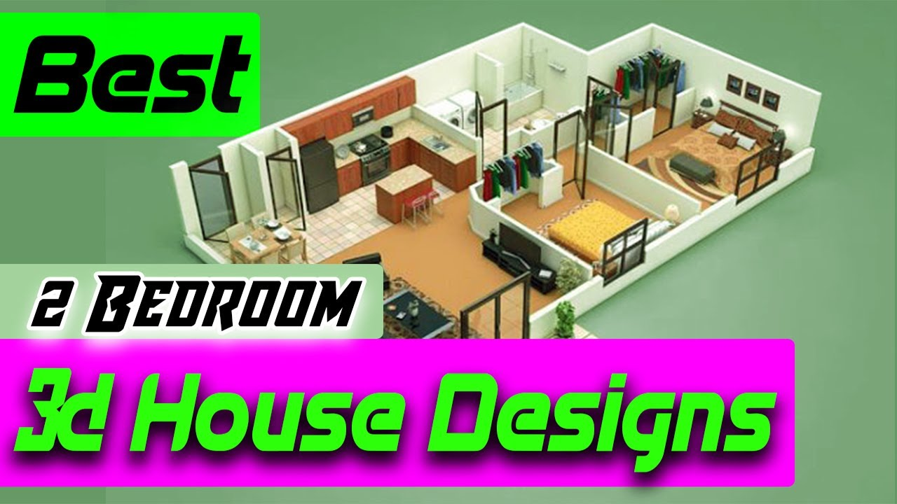 20 Best Small 2 Bedroom House Plans Designs Youtube