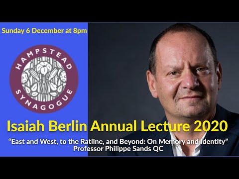 LIVE : Isaiah Berlin Annual Lecture 2020