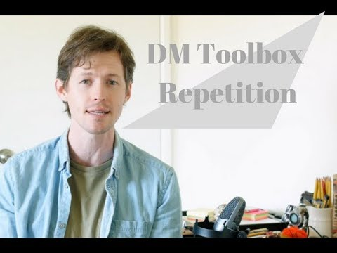 Dungeons and Dragons DM Toolbox  Repetition
