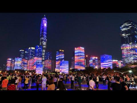 Китай, жизнь после пандемии. Октябрь 2020. Город Шеньчжень.
